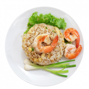 Seafood Fried Rice With Devilled Chicken