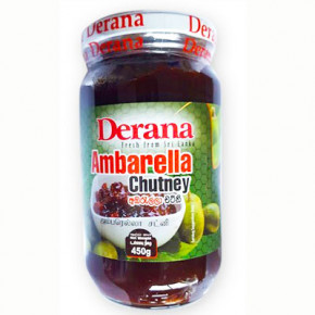 DERANA AMBERELLA CHUTNEY 450G