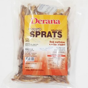 DERANA DRIED SPRATS 200G