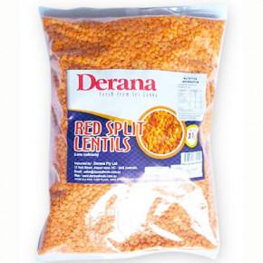 DERENA RED SPLIT LENTILS 1KG