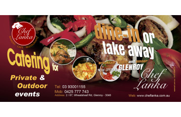 Dine - in Or Take away